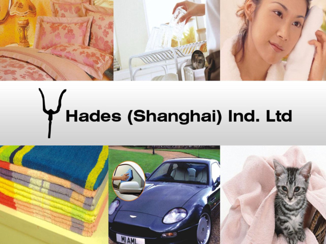 Hades Shanghai Industry's Brochure