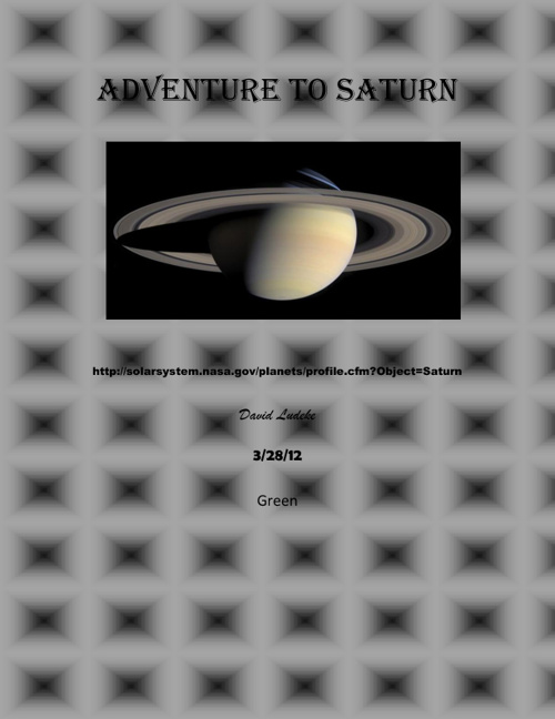 adventure to saturn