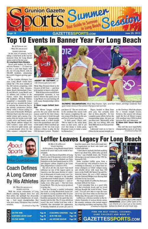 Gazette Sports | June 20, 2013