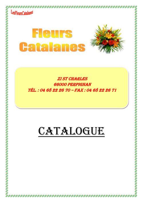 CATALOGUE FLEURS CATALANES