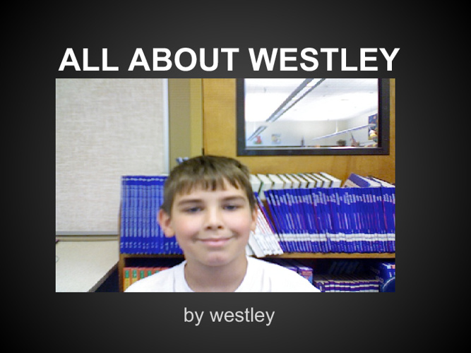 All About Westley