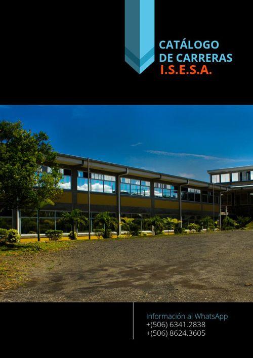 CATALOGO CARRERAS ISESA