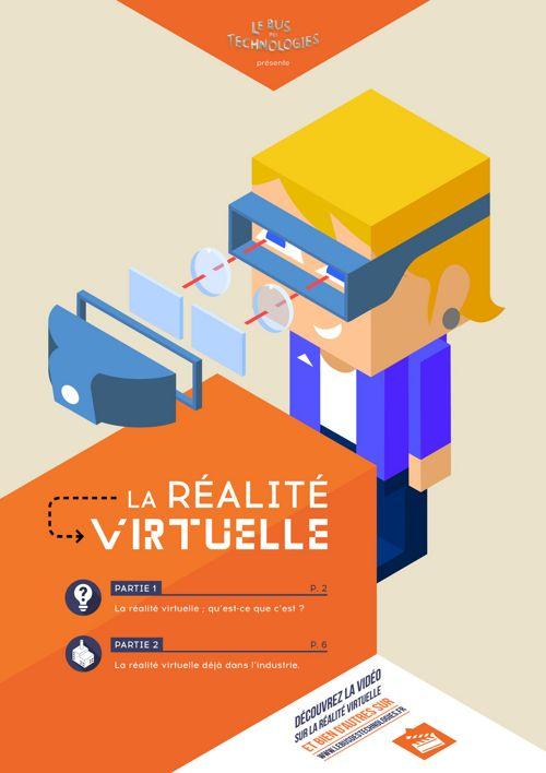 Livret : La réalité virtuelle, qu'est-ce que c'est ?