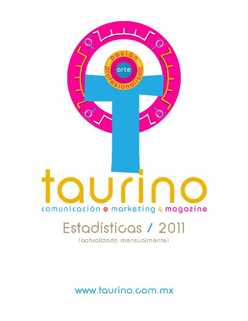 ESTADISTICAS TAURINO MAGAZINE www.taurino.com.mx MAR - JUL 2011