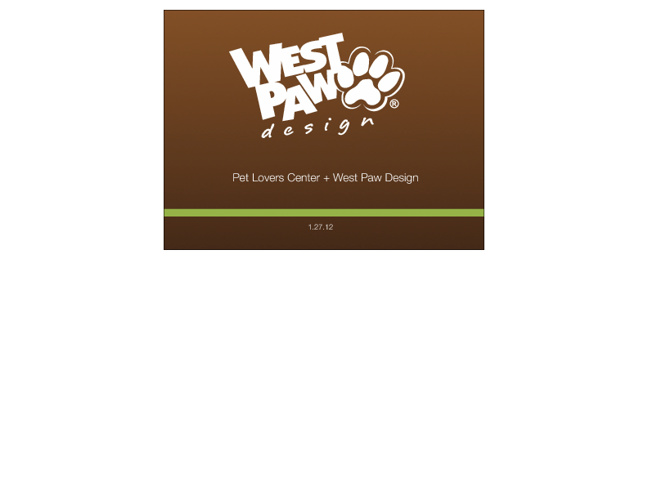 West Paw for Pet Lovers Centre