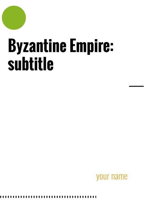 Byzantine Example