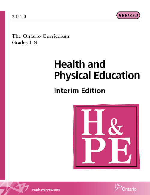 Health and PE Curriculum