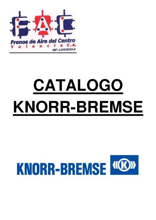 CATALOGO KNORR-BREMSE