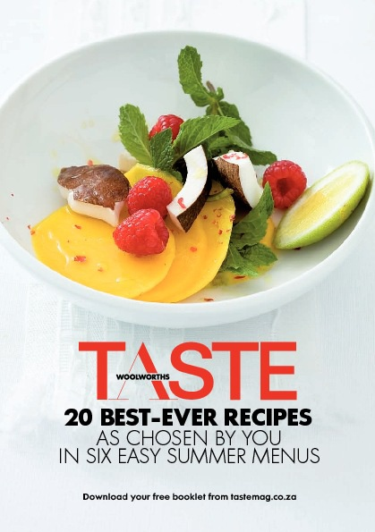 TASTE readers' favourite recipes