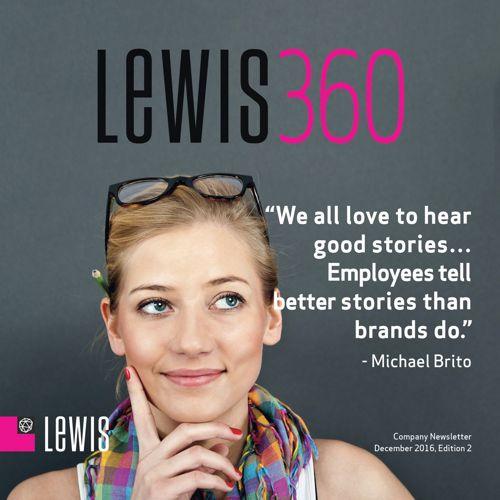 LEWIS 360 Global Newsletter - December 2016