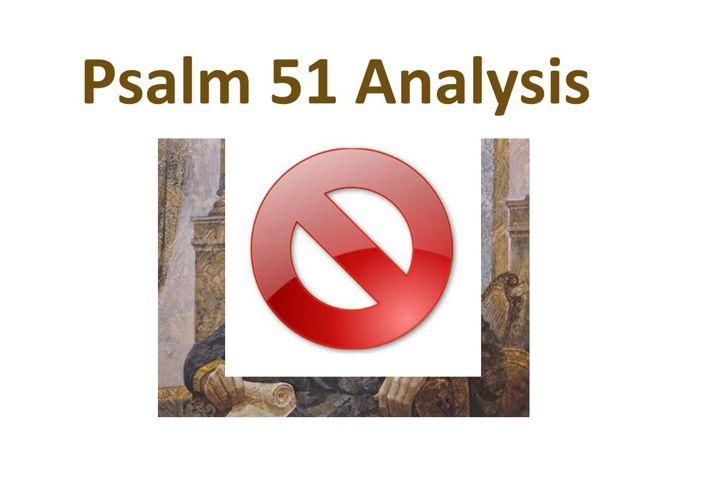 Psalm 51 Interpretation