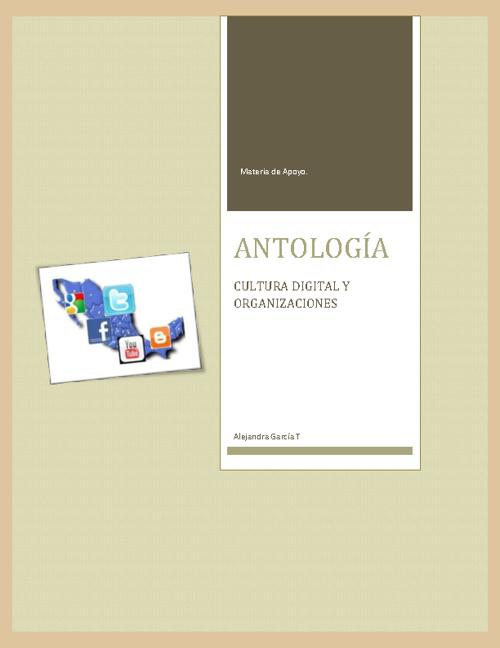 Antología de cultura digital