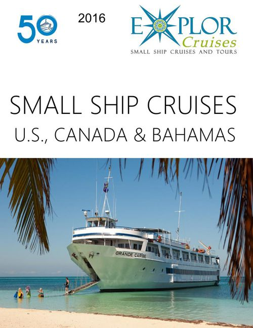 EC - Blount Small Ship Adventures 2016 Cruise Catalog