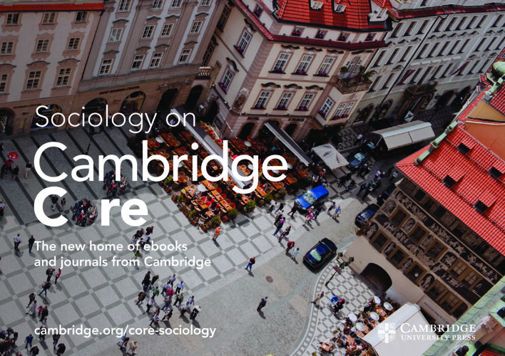 Cambridge Core Sociology flyer 2017