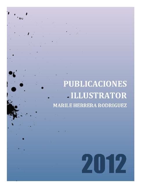 publicaciones illustrator