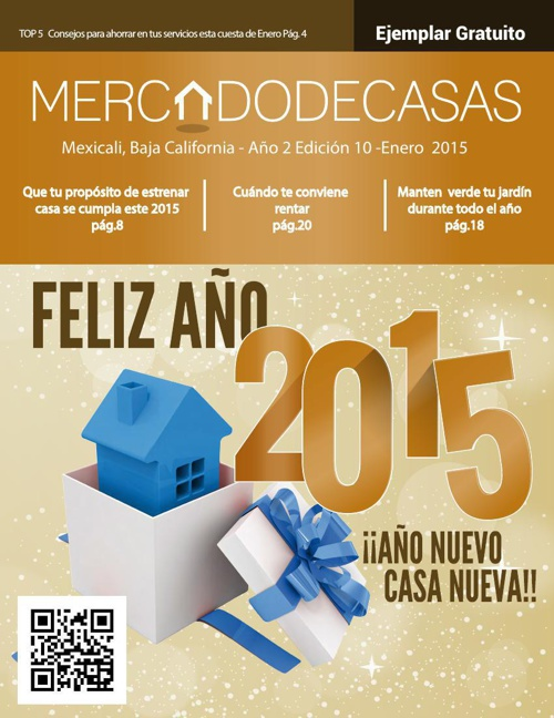 Revista Mercado de Casas, Edición 10 - Enero 2014