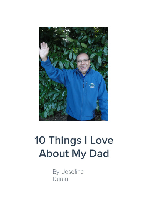 10 Things I love About My Dad