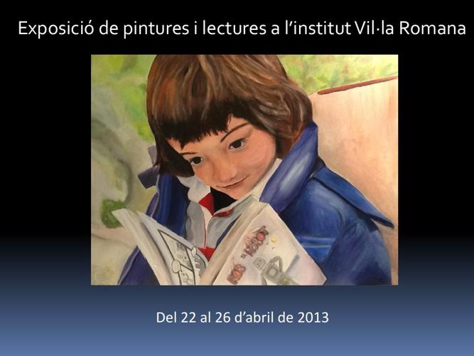 Exposició pintures abril 2013