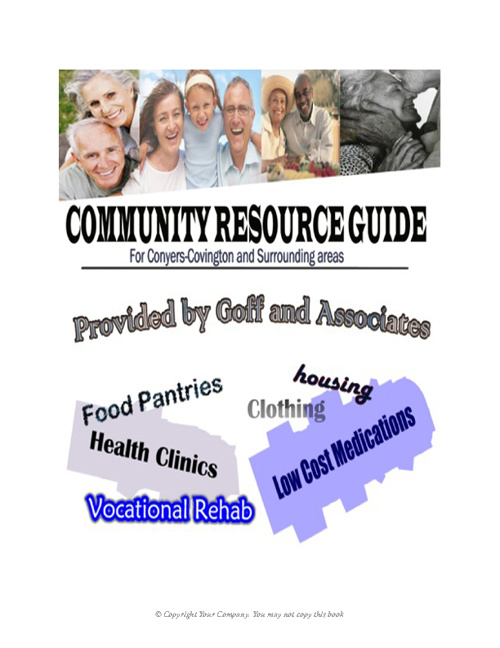 Community Resource Publication