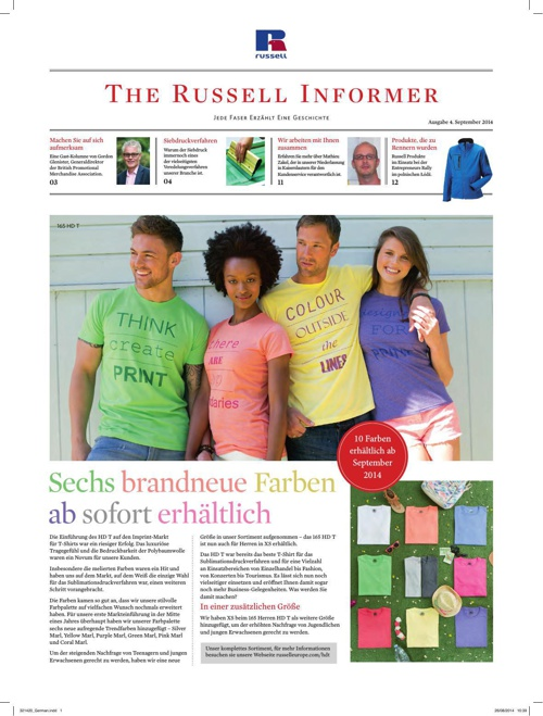 Russell Informer Issue 4 - German final print pdf