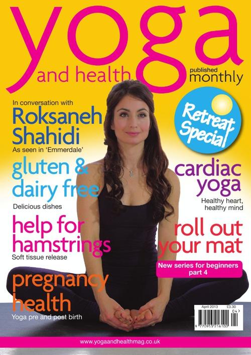 Yoga and health April 2013
