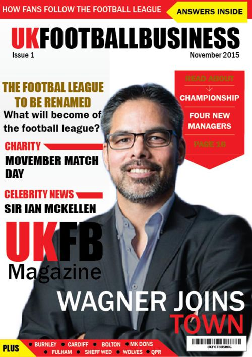 UK football magazine issue 1 print