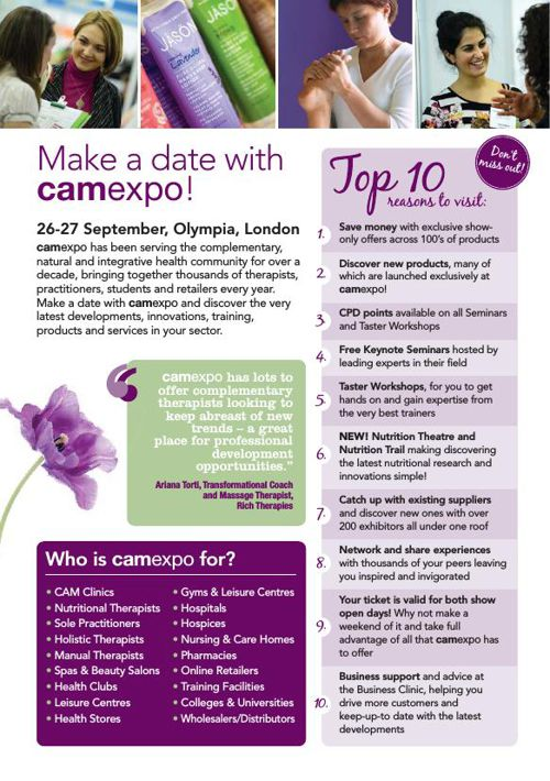 camexpo Visitor Brochure