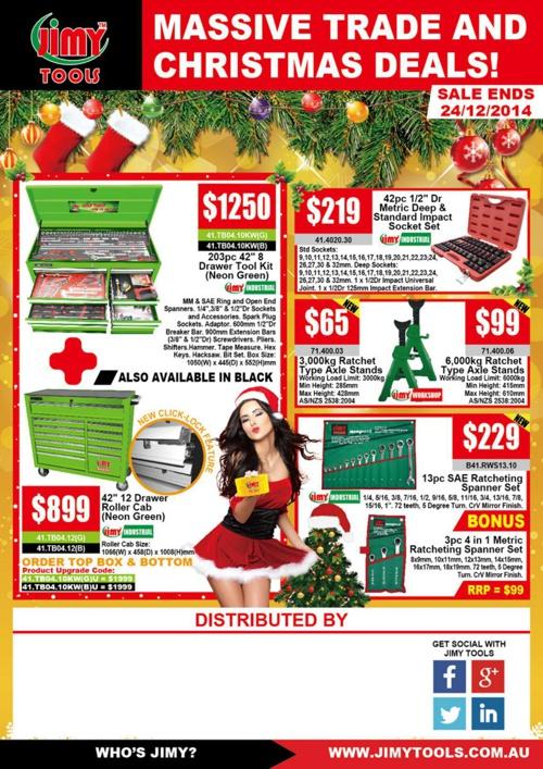 Jimy Tools - Massive Trade & Christmas Deals!