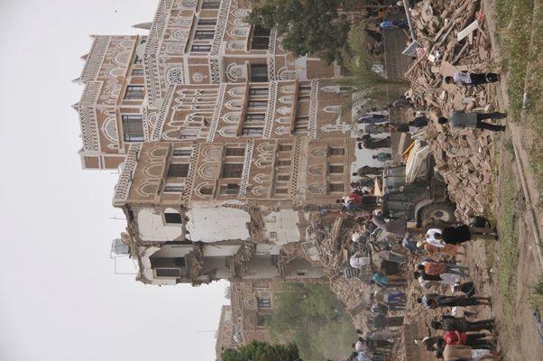 العدوان السعودي على مدينة صنعاء القديمة في اليمن 2