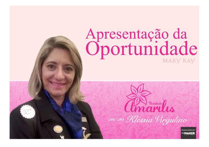 Apresentação da Oportunidade - Unid. Amarilis