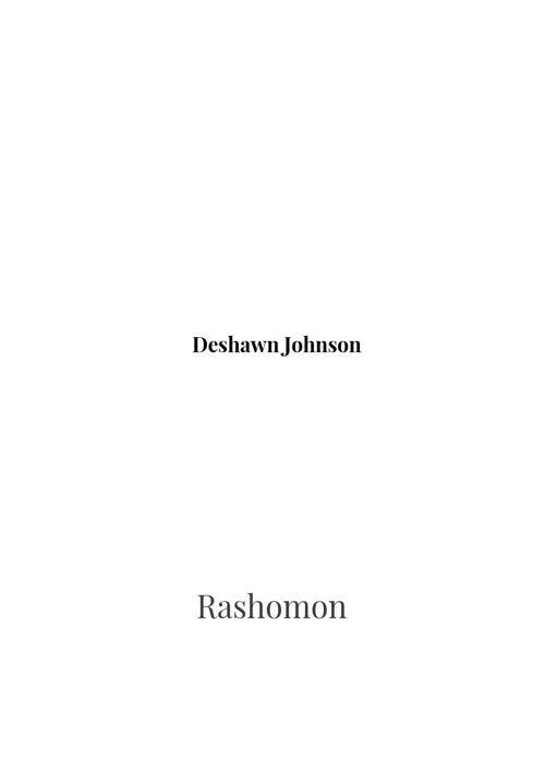Rashomon.