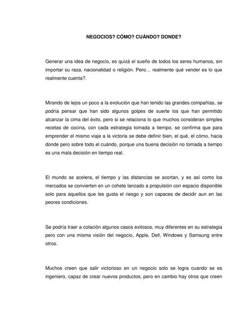 ENSAYO LECTURAS