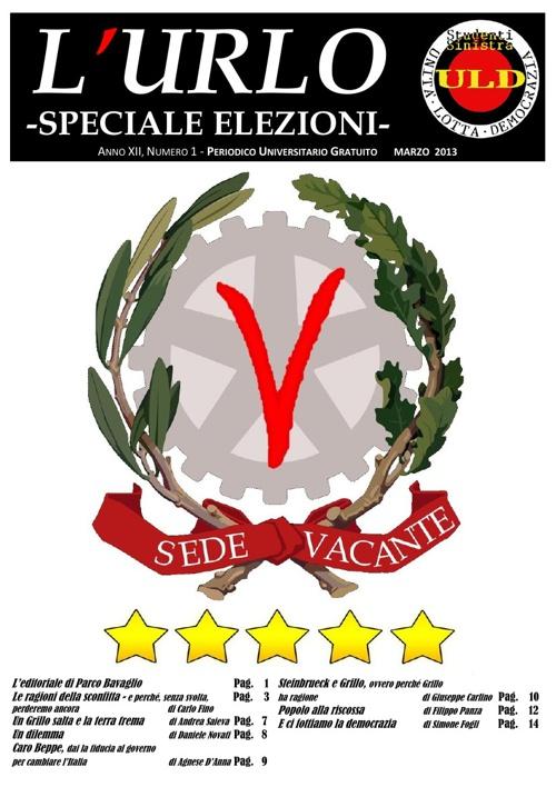 L'Urlo -speciale elezioni- Marzo 2013 bozza