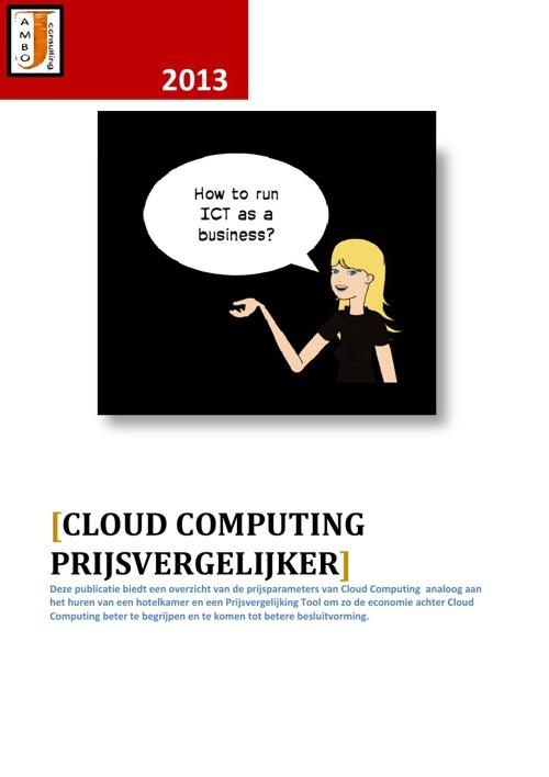 Cloud Computing Prijsvergelijker
