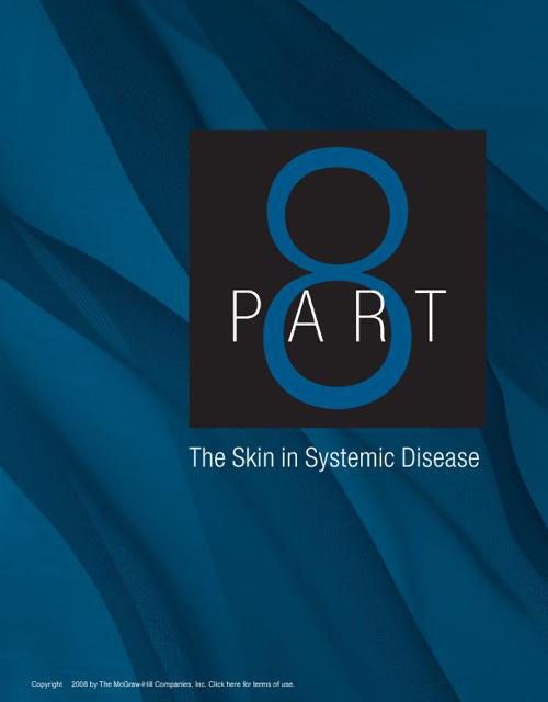 Fitzpatrick 2008 - Phần 08 - Biểu Hiện Da Trong Bệnh Toàn Thân
