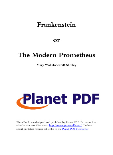 Frankenstein en Grimm's fairy tails