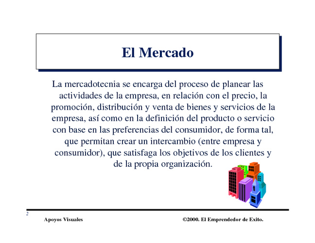 Estudio de Mercados Plan de Negocios