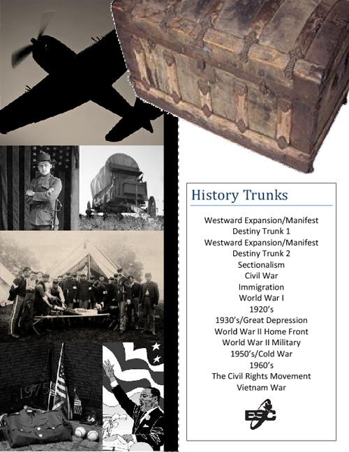 History Trunk Catalog