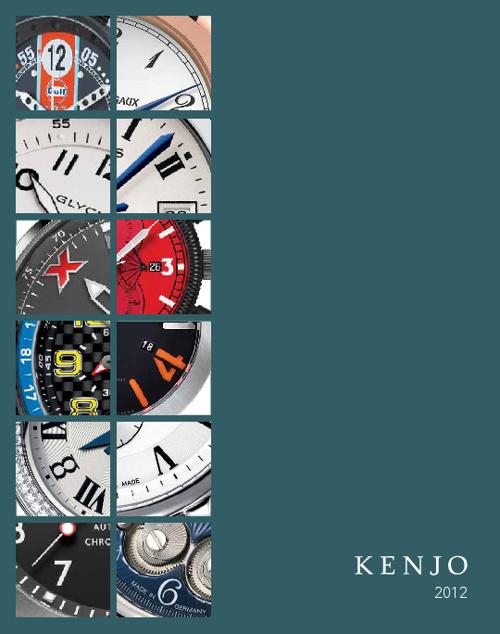 Kenjo 2012 Catalog