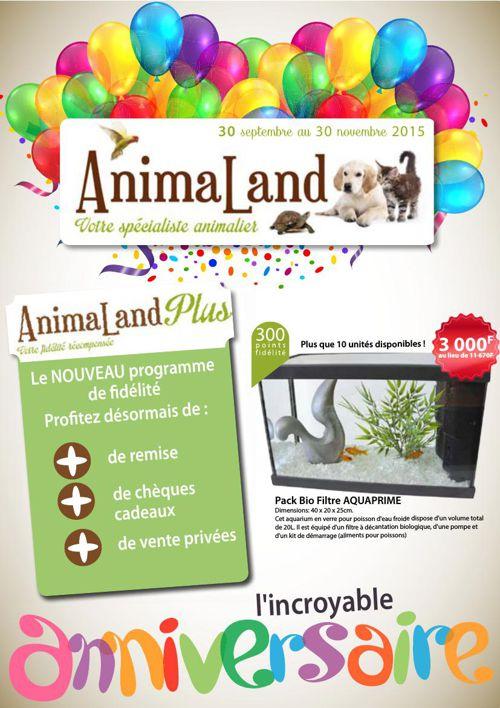 Catalogue Animaland octobre/novembre