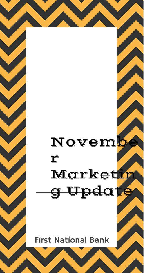 November Marketing Update