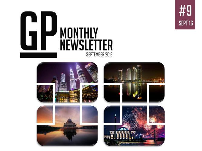 GP Monthly Newsletter - September 2016