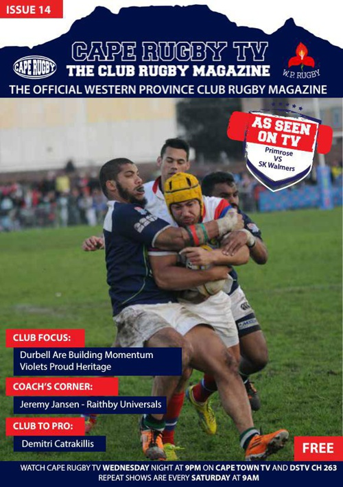 Cape Rugby TV Issue 14