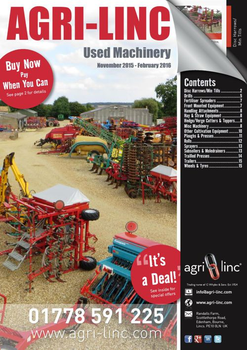 Used Machinery Catalogue