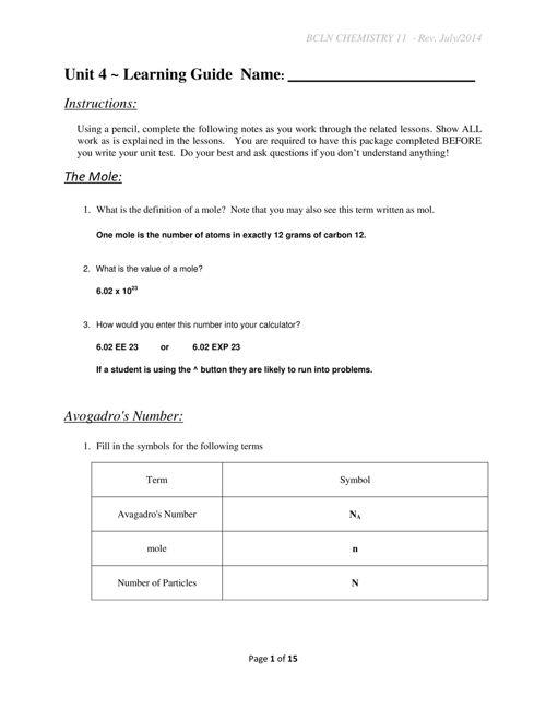 CH11_U4_notes