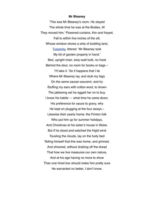 an analysis of toads by philip larkin Toads by philip larkin font colorredb the text of this poem could not be published because of copyright laws bfont page.