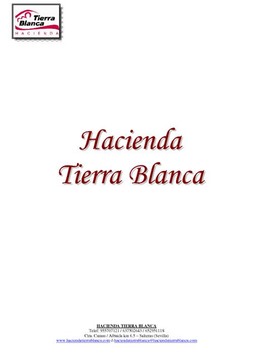 HACIENDA TIERRA BLANCA E-BOOK