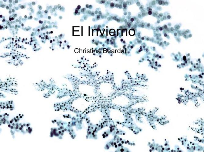El invierno - christina beardall
