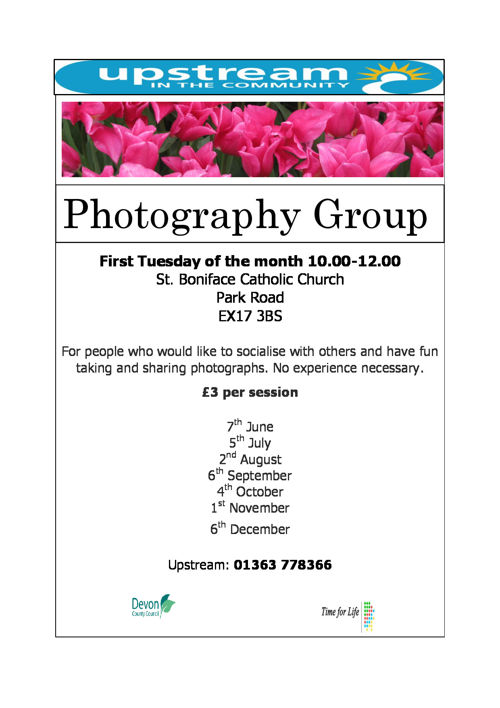 Crediton Photography Group 2016