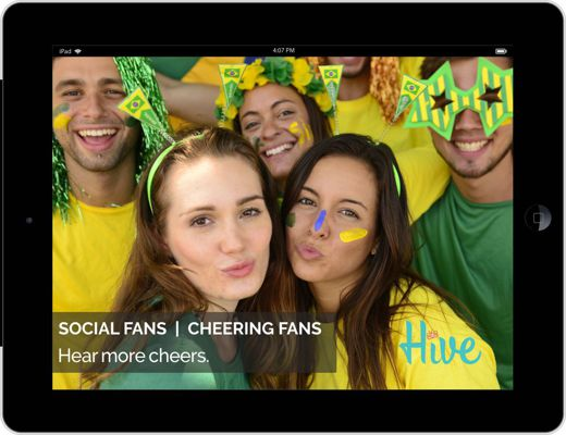 Hive for Professional Sports